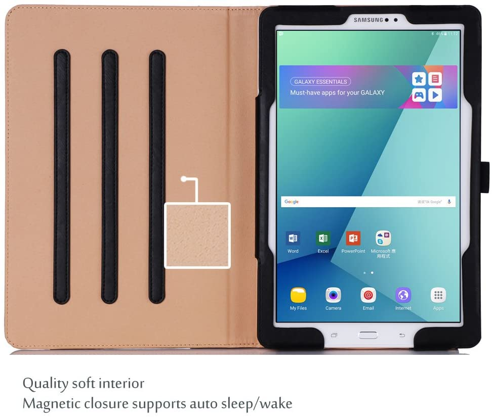 Galaxy Tab A 10.1 2016 P580 Leather Folio Case with S Pen | ProCase