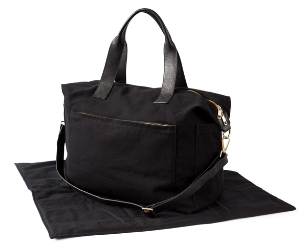Obi Kinomi 'Essential Baby' nappy bag | Onyx