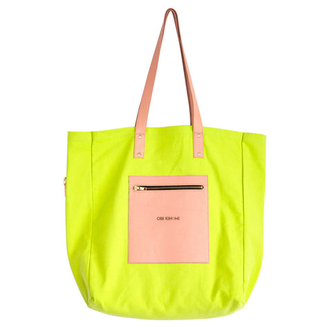 Essential Tote | zest w. natural