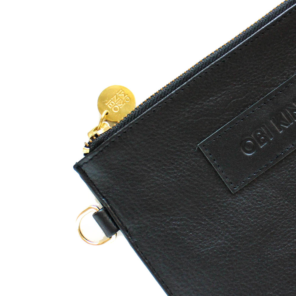 Cali Pouch | black leather