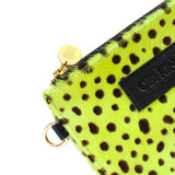 Cali Pouch | lime pony leather
