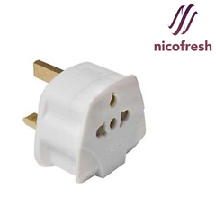 Wall Plug Adapter EU/USA to UK