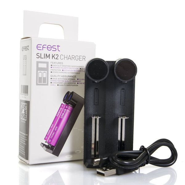 Efest Slim K2 USB Intelligent Battery Charger