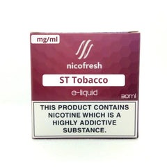 30ml ST Tobacco Nicofresh Limited Offer
