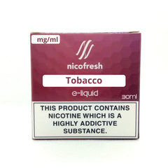 30ml Tobacco Nicofresh Limited Offer