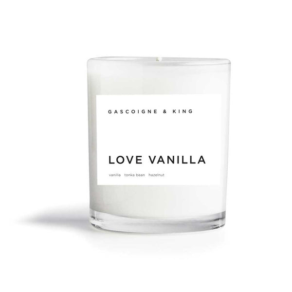 Gascoigne & King Love Vanilla Candle