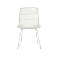 Outdoor Dining Chair | Granada Sleigh Dining Chair Light Grey