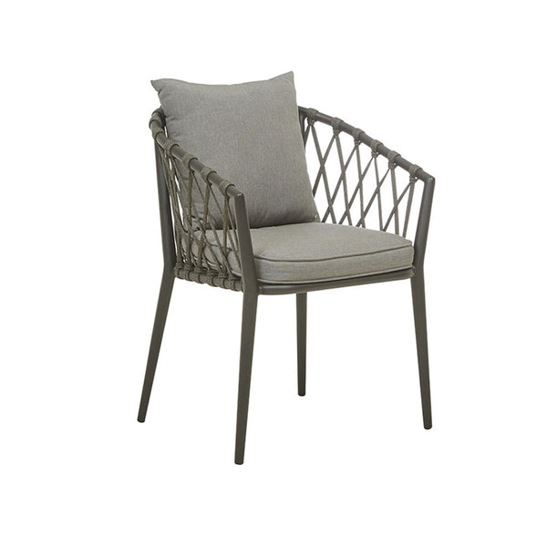 Outdoor Dining Arm Chair | Maui Black