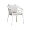 Outdoor Dining Arm Chair | Maui White