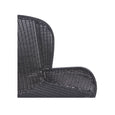 Outdoor Dining Chair | Granada Butterfly Closed Weave Licorice