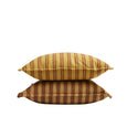 Safari Stripe Cushion Cover Rusty Desert 55*55