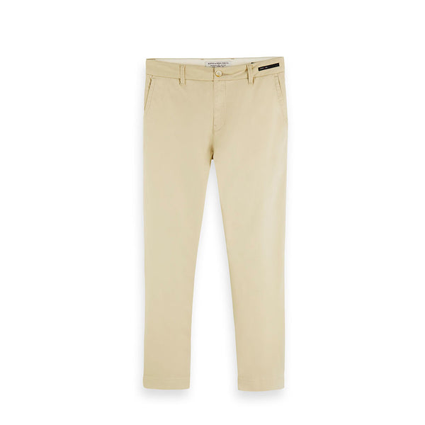 Scotch & Soda Fave Twill Chino Pants Sand