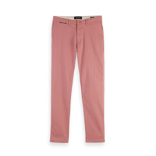 Scotch & Soda Stuart Chino Pants Pink Smoke