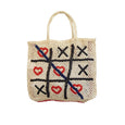 The Jacksons Hearts & Crosses Woven Bag