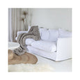 Singita Three Seater Sofa White | Uniqwa Furniture