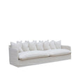 Singita Four Seater Sofa Sand | Uniqwa Furniture