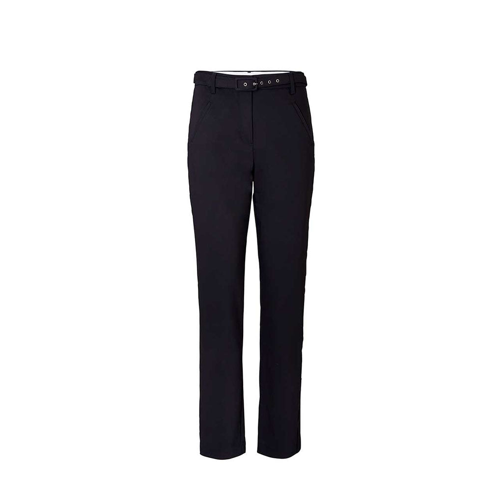 5 Units Angelie Straight Leg Belted Pants