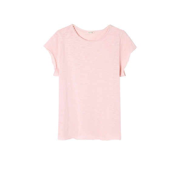 American Vintage Boat Neck Sonoma Tee Rose