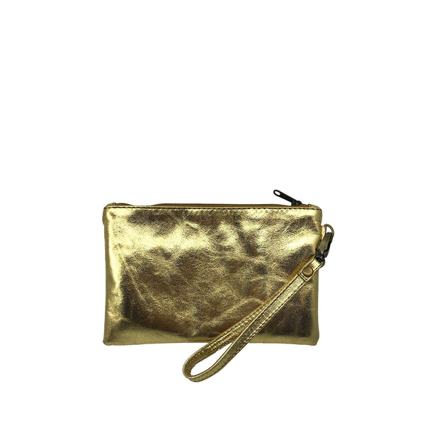 Austin Basics Mini Gold Clutch
