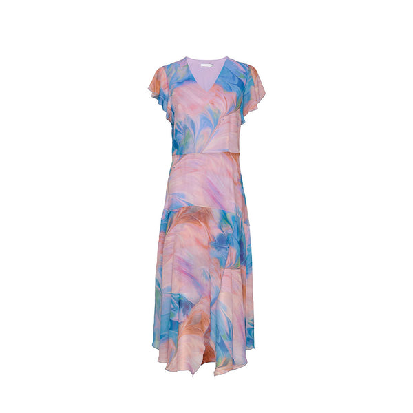 Coster Copenhagen Marbled Sea Colour Dress