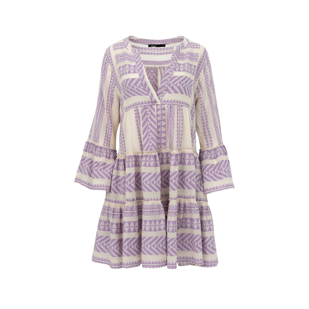 Devotion Ella Mini Dress Lilac
