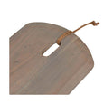 Ridge Large Oval Cheeseboard Natural Wood