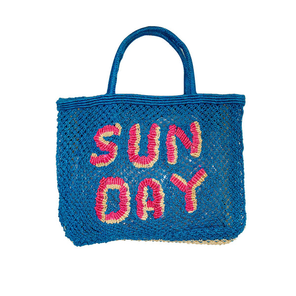 The Jacksons Large Woven Jute Bag - Sun Day