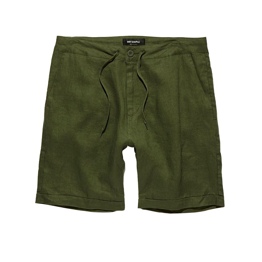 Mr Simple Tanner Short Fatigue Linen