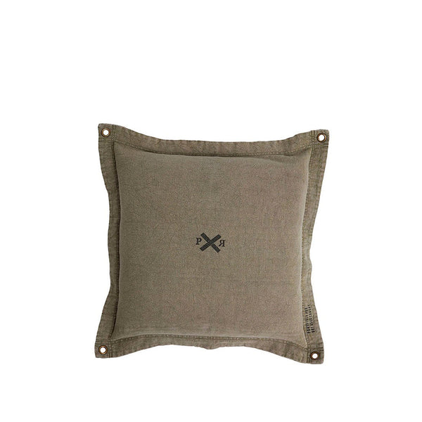 Pony Rider Highlander Cushion Cover Olive 60*60