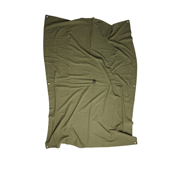 Pony Rider Highlander Throw - Olive