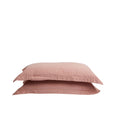 Organic Canvas Pillowcase Pair Donkey