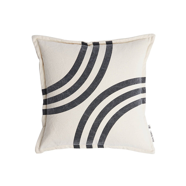 River Bends Cushion Cover Shadow/Oats 45*45