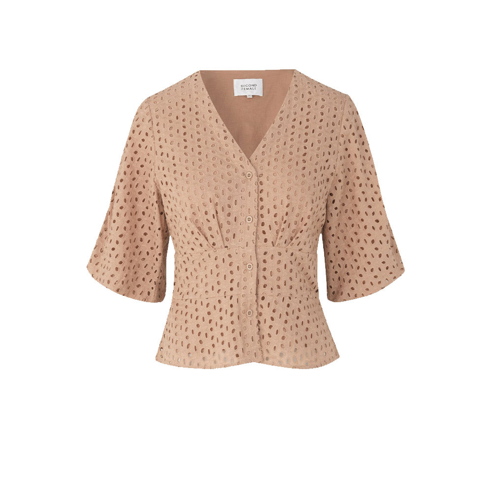 Second Female Milly Broderie Blouse
