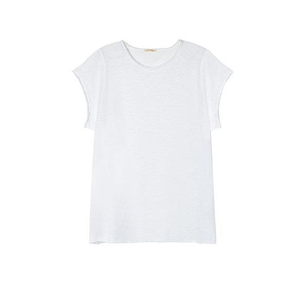 American Vintage Boat Neck Sonoma Tee White