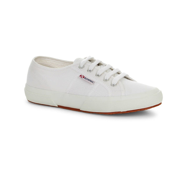 Superga 2750 Cotu Classic Unisex White Canvas Sneakers