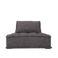 Collins One Seater Sofa Dark Grey | Uniqwa Furniture