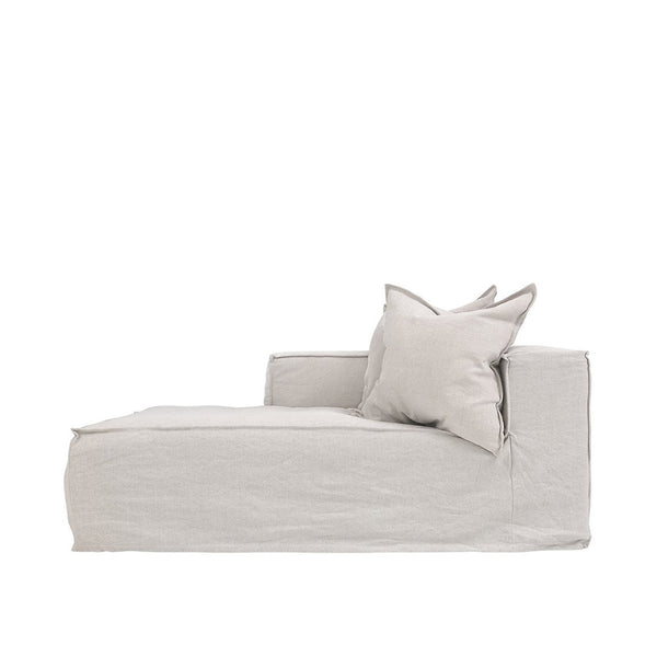 Hendrix Chaise Sofa Left Arm Sand | Uniqwa Furniture