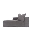 Hendrix Sofa Chaise Left Arm Charcoal | Uniqwa Furniture