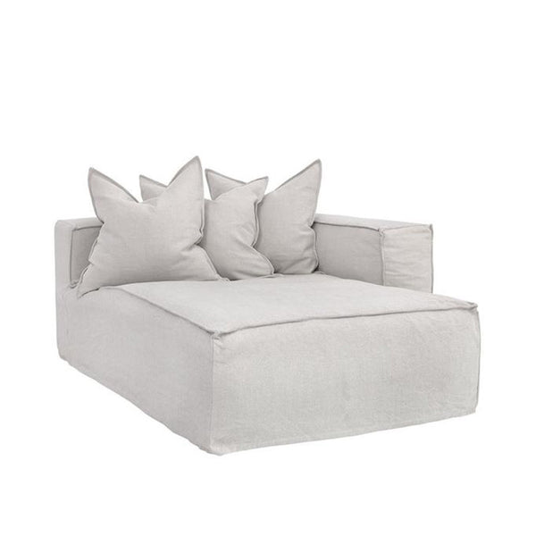 Hendrix Chaise Sofa Right Arm Sand | Uniqwa Furniture