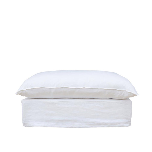 Singita Ottoman White | Uniqwa Furniture