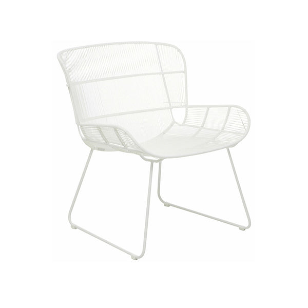 Occasional Chair | Granada Butterfly Occasional Chair White