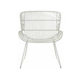 Occasional Chair | Granada Butterfly Occasional Chair Light Grey