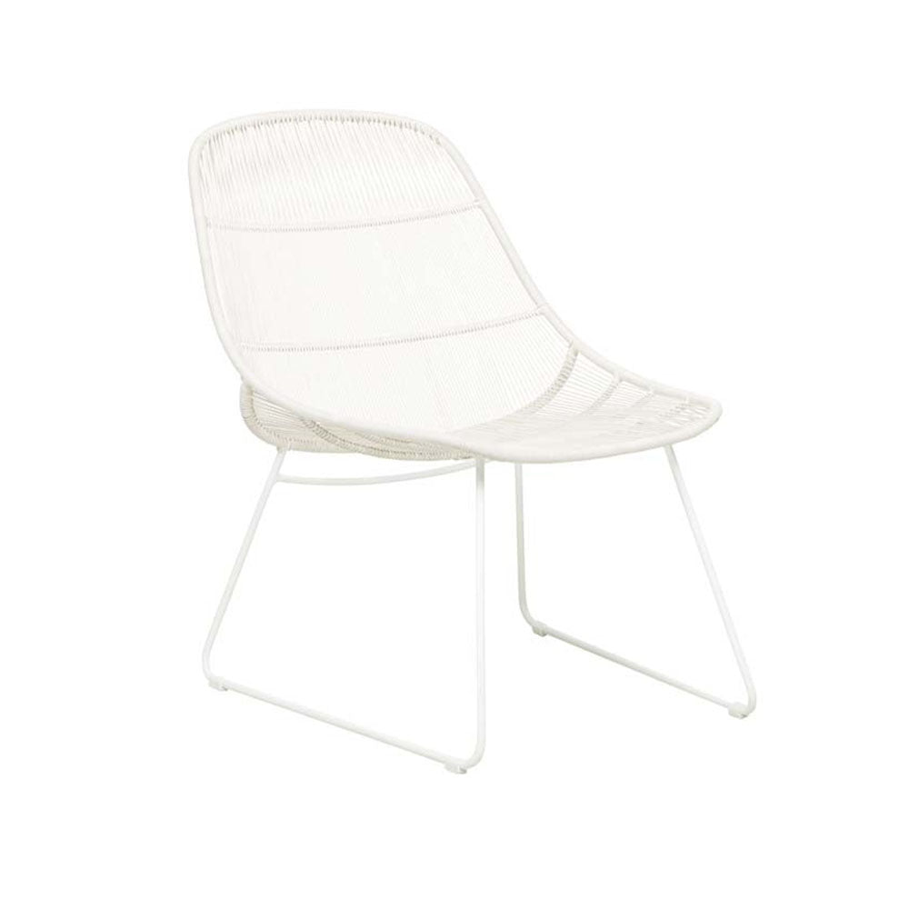 Outdoor Occasional Chair | Granada Occasional Scoop White