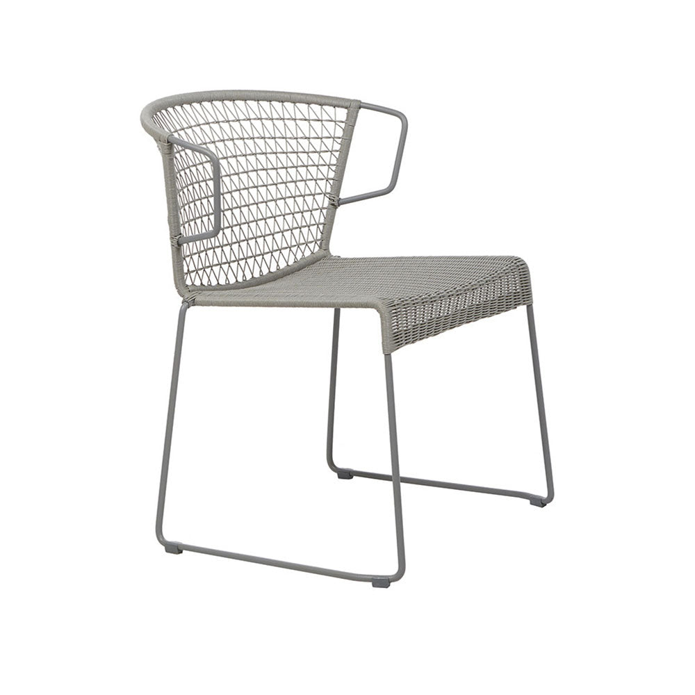 Outdoor Chair | Granada Rhodes Arm Chair Grey