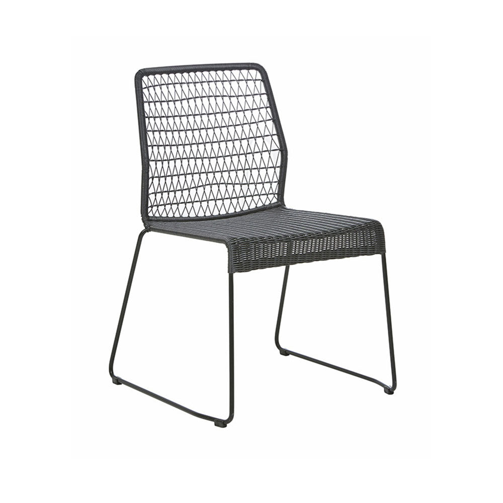 Outdoor Dining Chair | Granada Twist Black