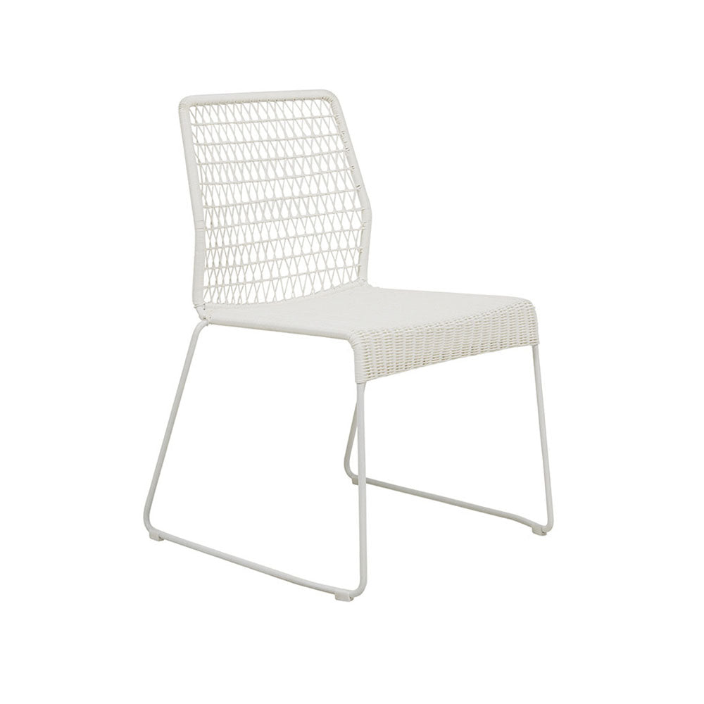 Outdoor Dining Chair | Granada Twist White