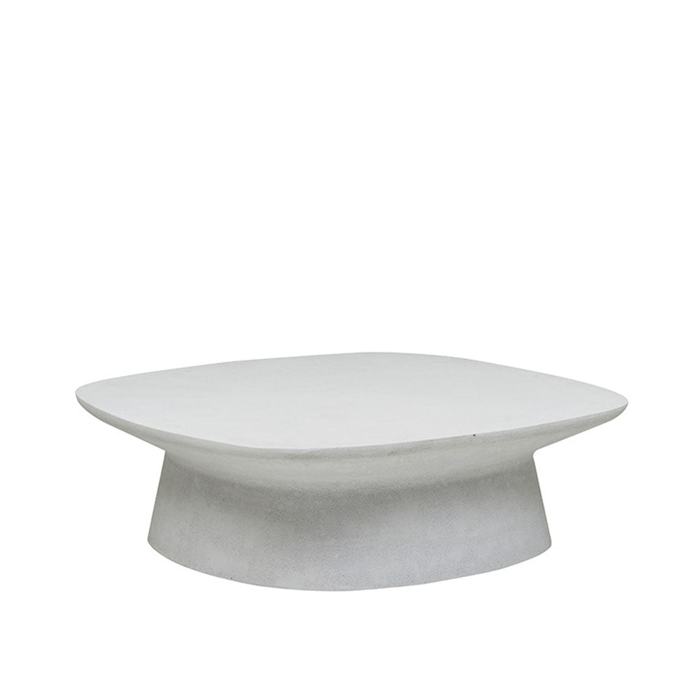 Livorno Outdoor Curve Coffee Table White