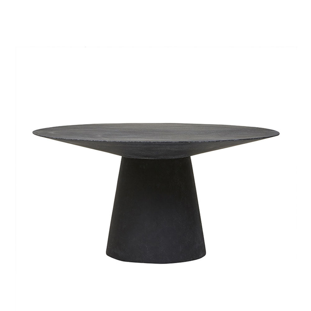 Livorno Outdoor Dining Table Black