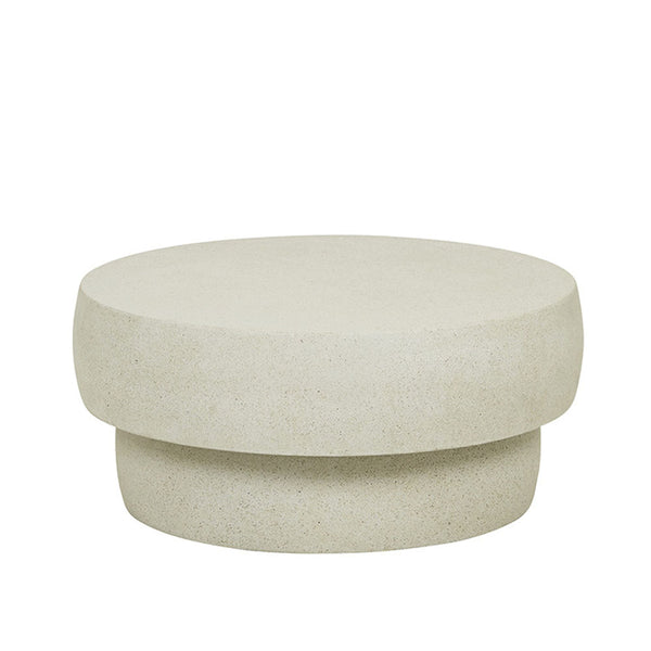 Livorno Outdoor Boulder Coffee Table Grey