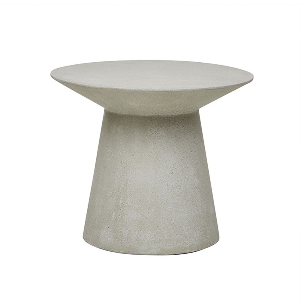 Livorno Outdoor Round Side Table Grey Speckle